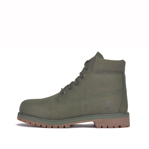 "6"" PREMIUM WATERPROOF BOOT (JUNIOR) - GREEN"