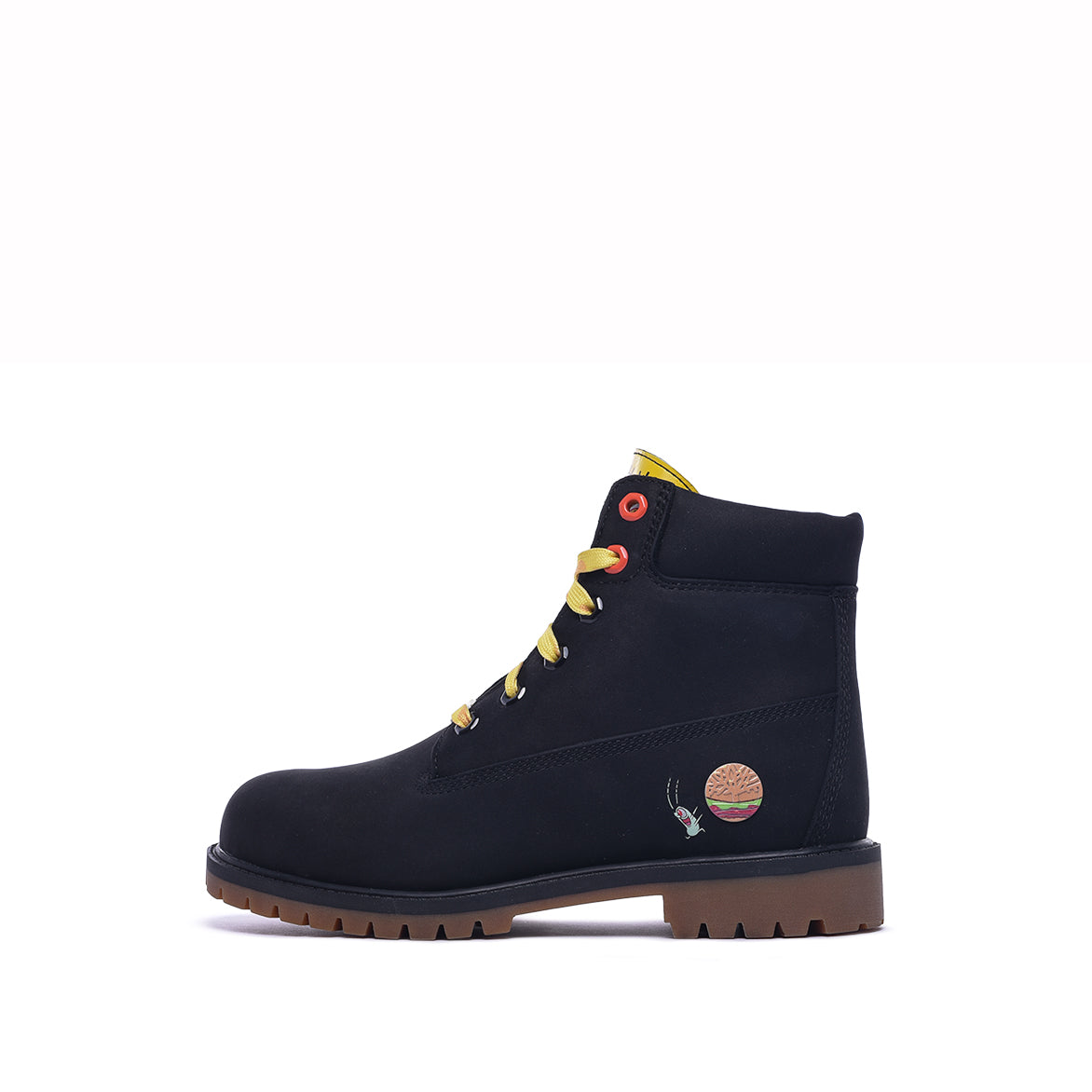 "SPONGEBOB X TIMBERLAND 6"" PRM BOOT (PS) - BLACK"
