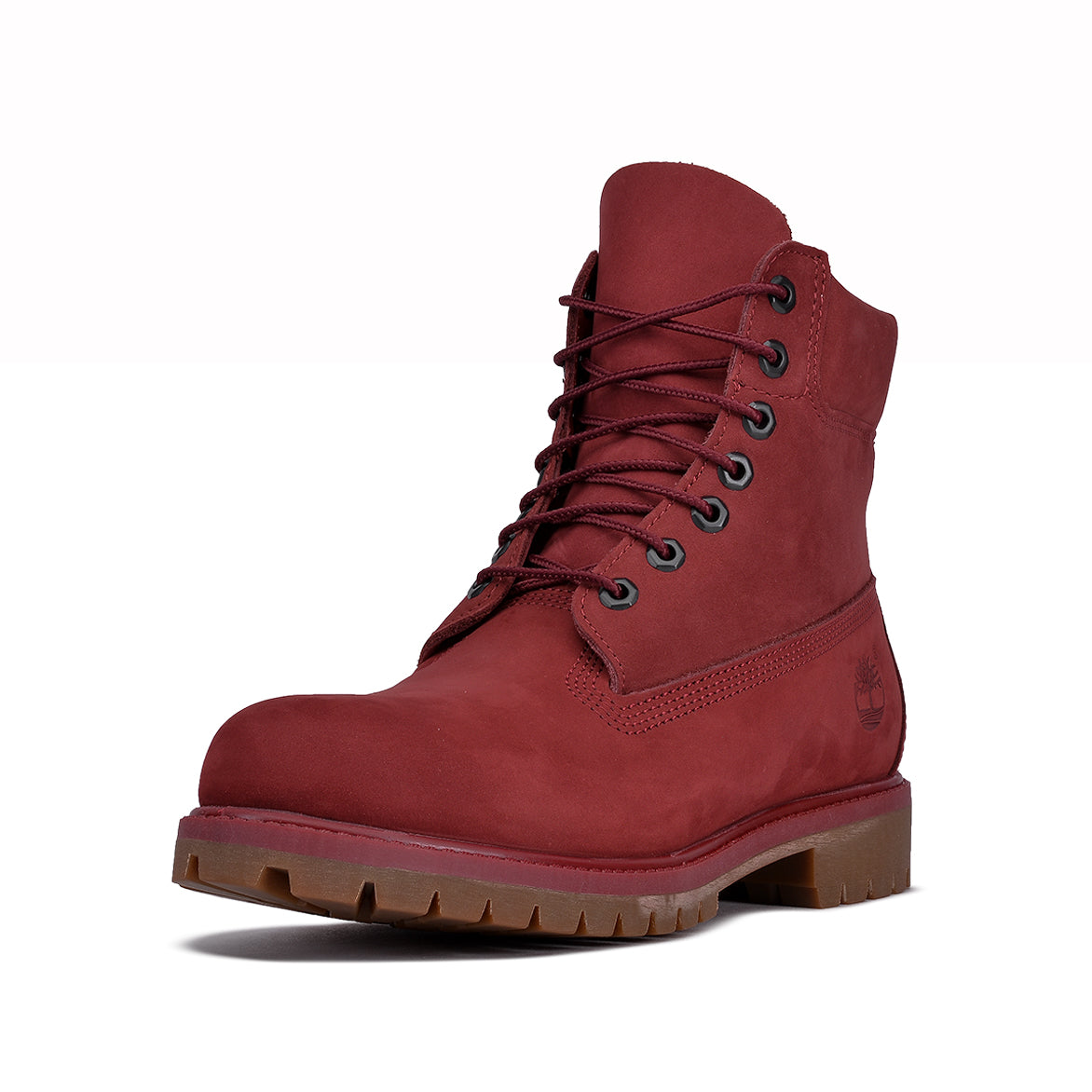 WATERPROOF 6 INCH PREMIUM BOOT - BURGUNDY