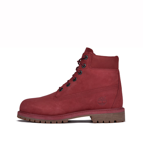 "6"" PREMIUM WATERPROOF BOOT (JUNIOR) - BURGUNDY"