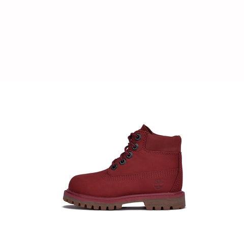 "6"" PREMIUM WATERPROOF BOOT (TODDLER) - BURGUNDY"