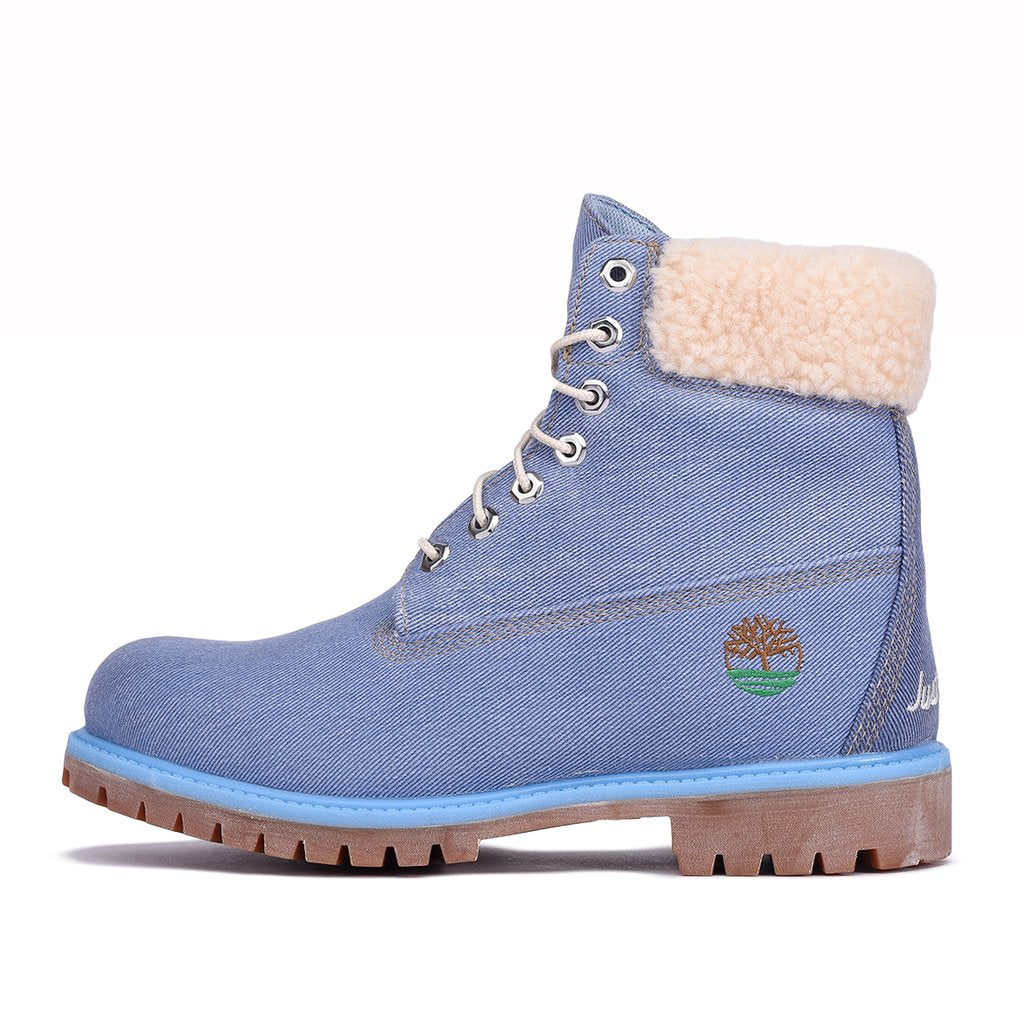 "JUST DON X TIMBERLAND 6"" PREM ""DENIM""*"