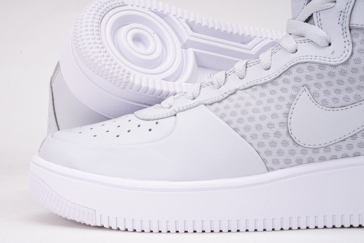 AIR FORCE 1 ULTRAFORCE MID - PURE PLATINUM