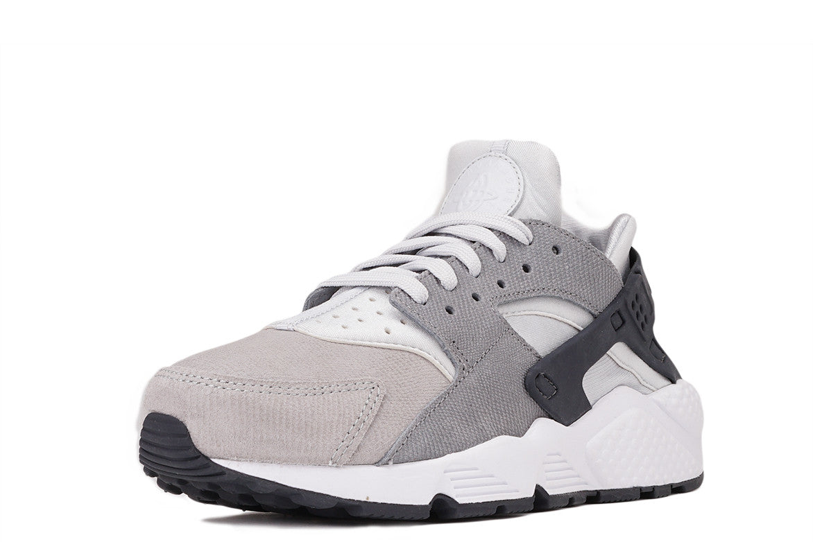 AIR HUARACHE RUN PRM (WMNS) - PURE PLATINUM / COOL GREY