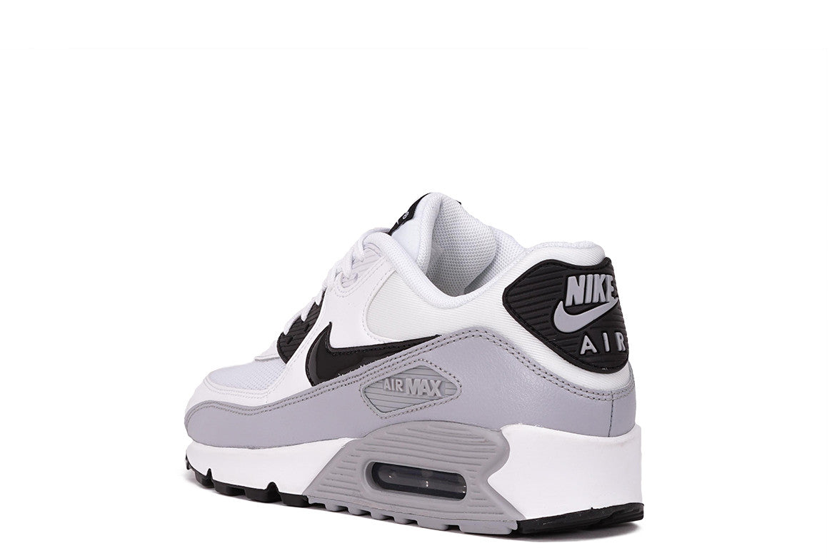AIR MAX 90 ESSENTIAL (WMNS) - WHITE/ BLACK / WOLF GREY