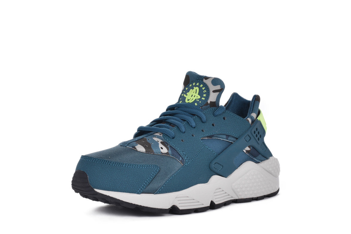 AIR HUARACHE RUN PRINT WMNS - TEAL CAMO