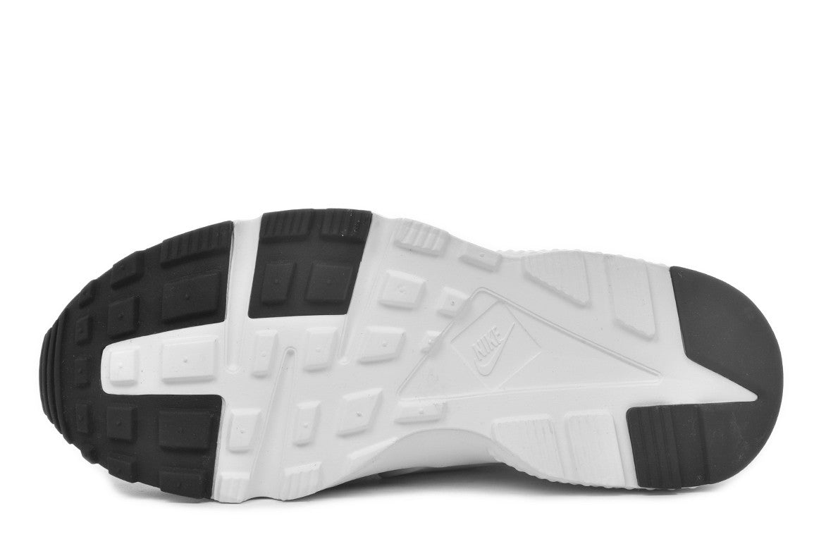 HUARACHE RUN (GS) - BLACK / WHITE