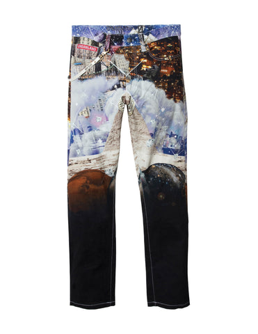 THUTMOSE PANT - BLACK / MULTI