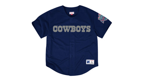 NFL MESH BUTTON FRONT JERSEY - COWBOYS