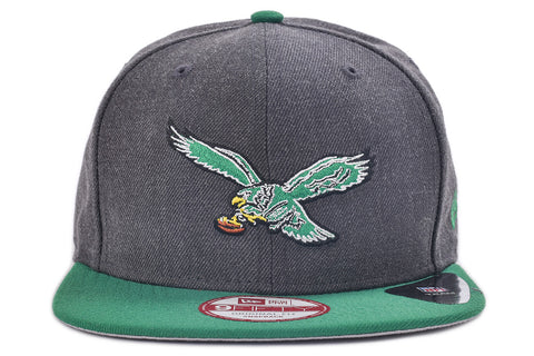 9FIFTY HEATHER GRAPHITE ORIGINAL FIT SNAPBACK - EAGLES