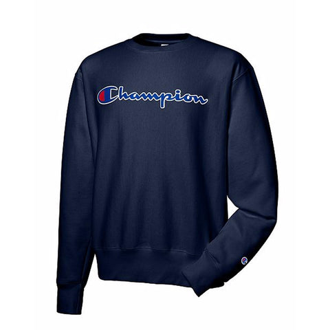 REVERSE WEAVE MEN'S SWEATSHIRT - NAVY