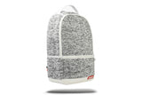 GREY KNIT CARGO BACKPACK