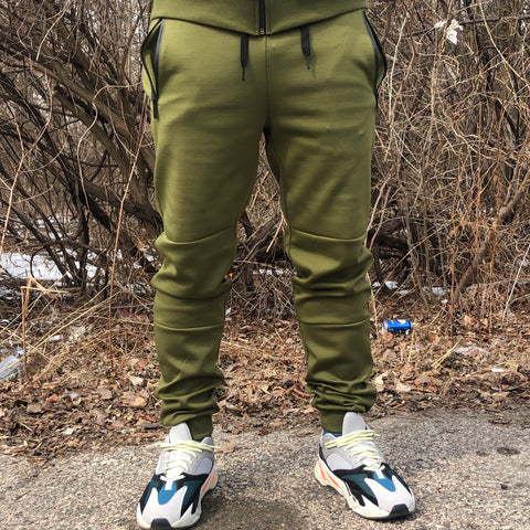 TECH JOGGER - OLIVE