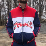 TIGRE LOGO TRACK JACKET - RED