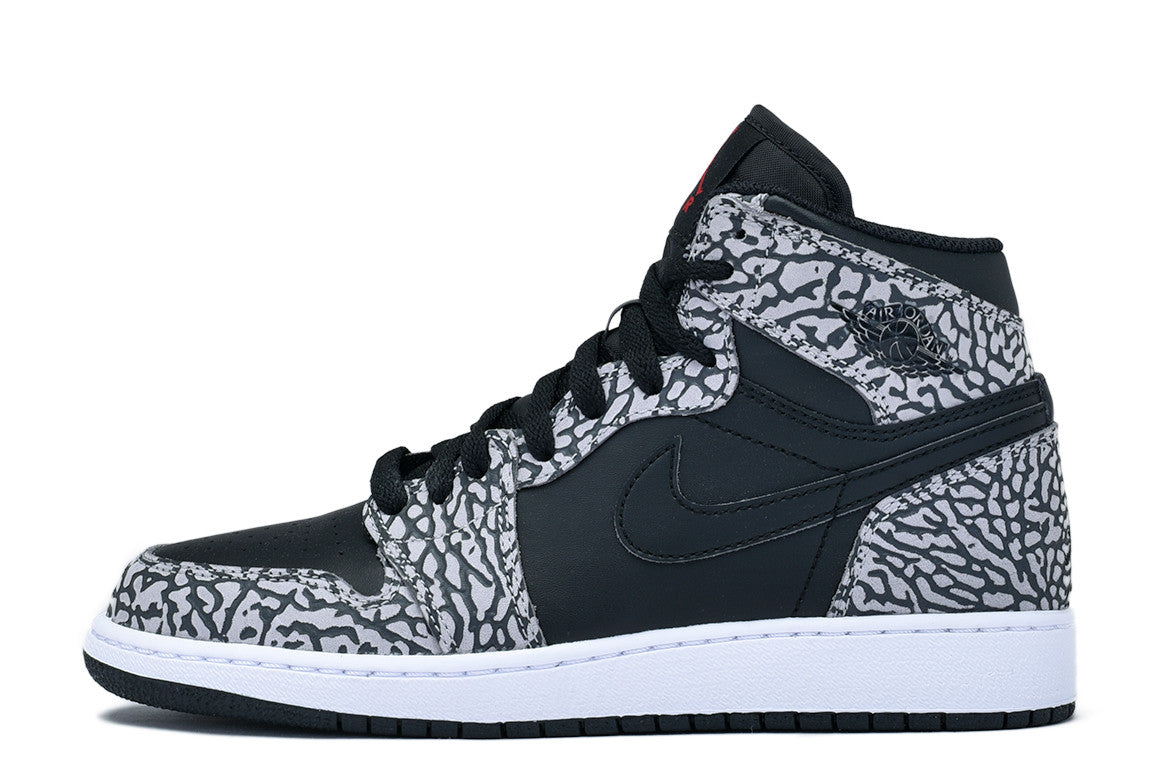 "AIR JORDAN 1 RETRO HI PREMIUM BG ""UNSUPREME"" - BLACK"