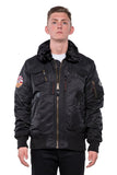 INJECTOR JACKET - BLACK WASHED