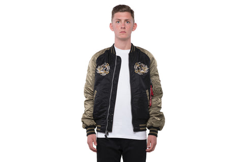 MA-1 SOUVENIR EAGLE FLIGHT JACKET
