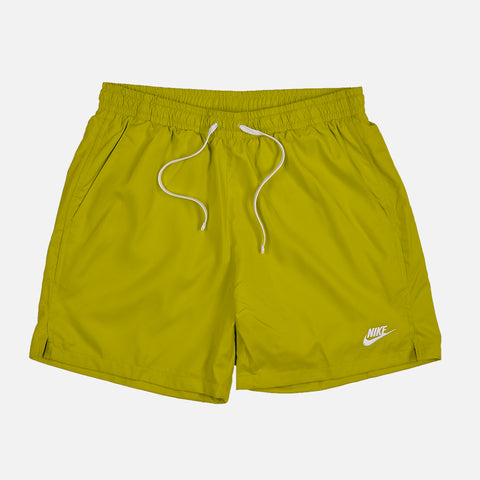 NIKE FLOW WOVEN SHORTS - BRIGHT CACTUS