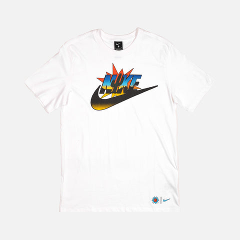 NIKE EXPLORATION SERIES TEE - WHITE