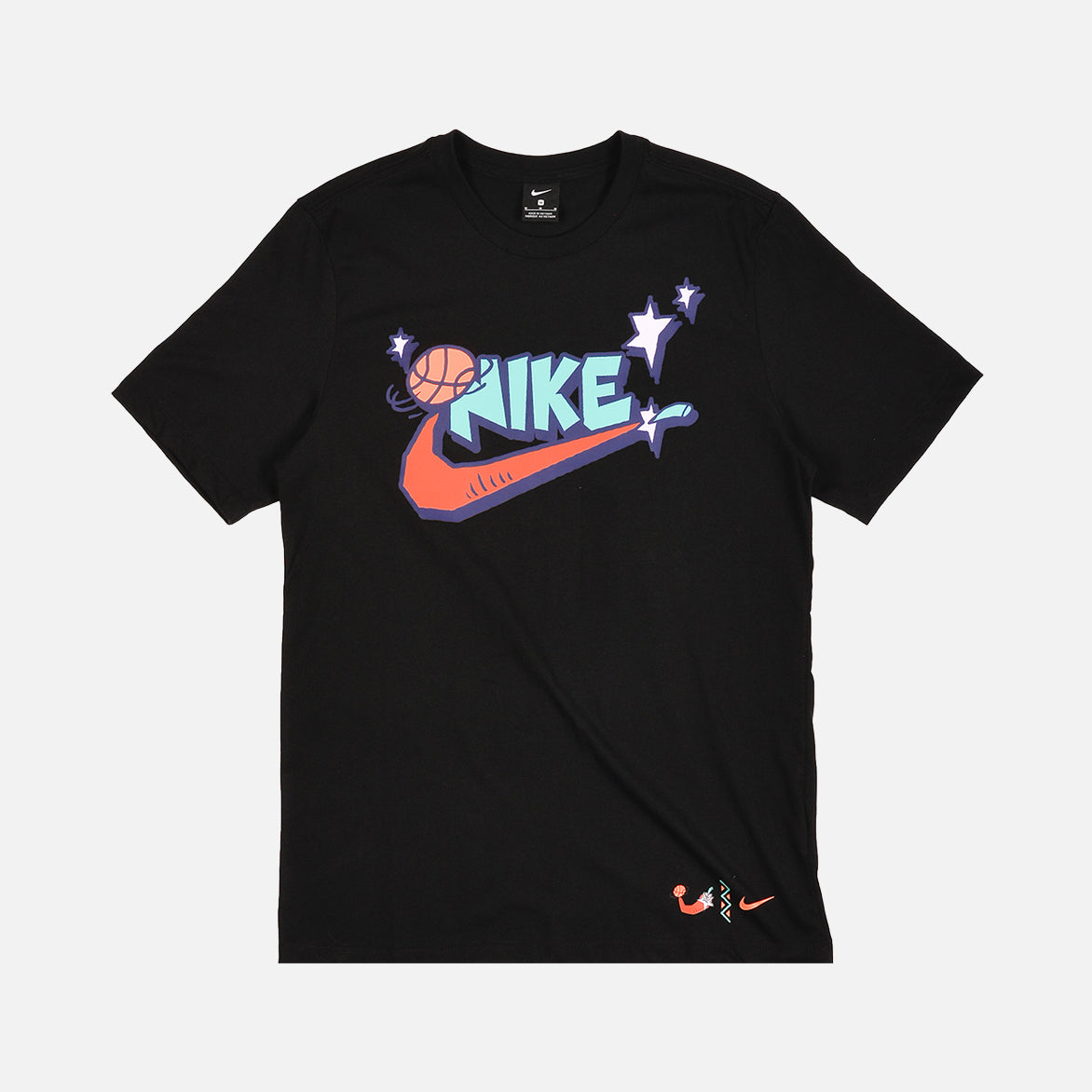 NIKE EXPLORATION SERIES TEE - BLACK