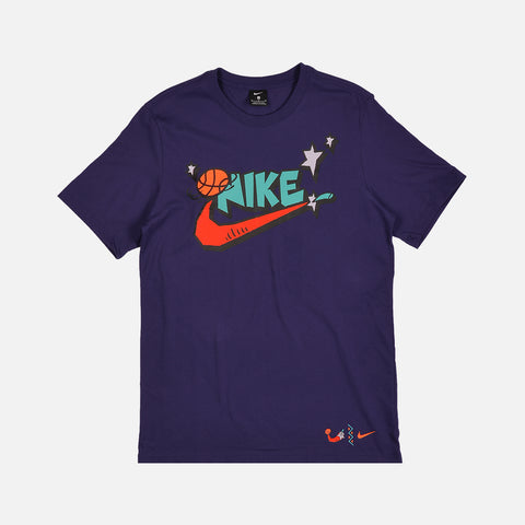 NIKE EXPLORATION SERIES TEE - REGENCY PURPLE