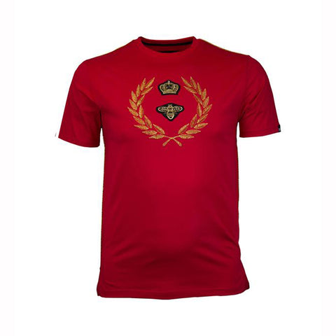 CROWN CREST TEE - RED