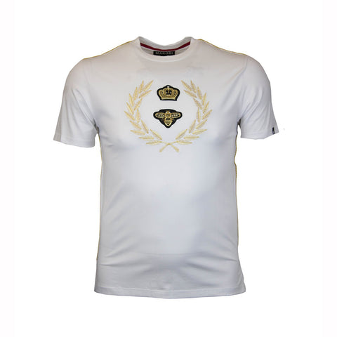 CROWN CREST TEE - WHITE