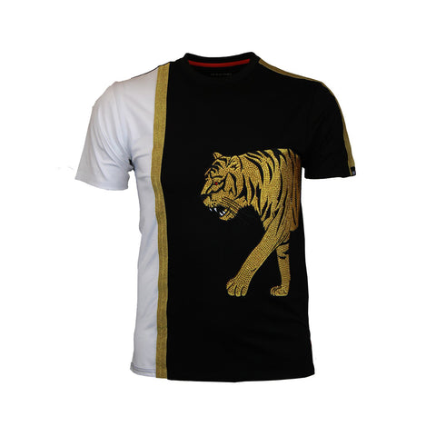 TIGER WALK TEE - BLACK