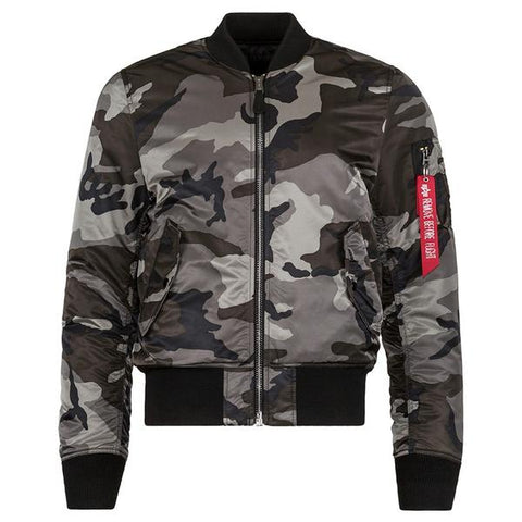 MA-1 SLIM FIT FLIGHT JACKET - CAMO