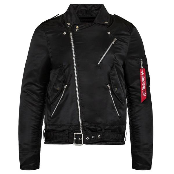 OUTLAW BIKER JACKET - BLACK