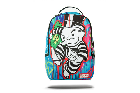 MONOPOLY PAINT DRIPS BACKPACK