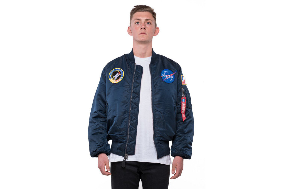 NASA MA-1 FLIGHT JACKET - NAVY