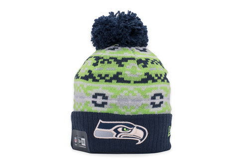 RETRO CHILL KNIT HAT - SEAHAWKS