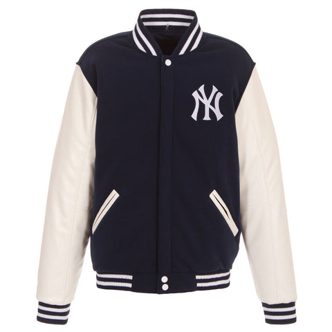 REVERSIBLE VARSITY JACKET - YANKEES