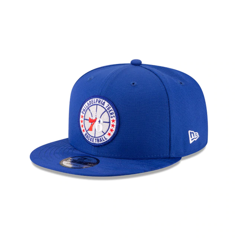 PHILADELPHIA 76ERS 2018 NBA AUTHENTICS: TIP OFF SERIES 9FIFTY SNAPBACK - BLUE