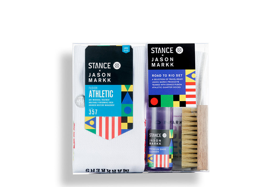 JASON MARKK X STANCE: ROAD TO RIO