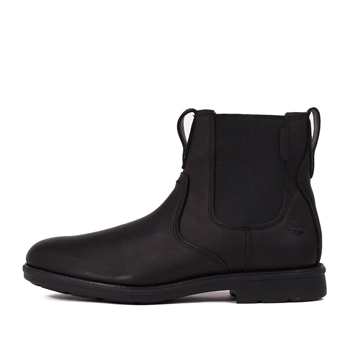 CARTER NOTCH PLAIN TOE CHELSEA BOOT - BLACK