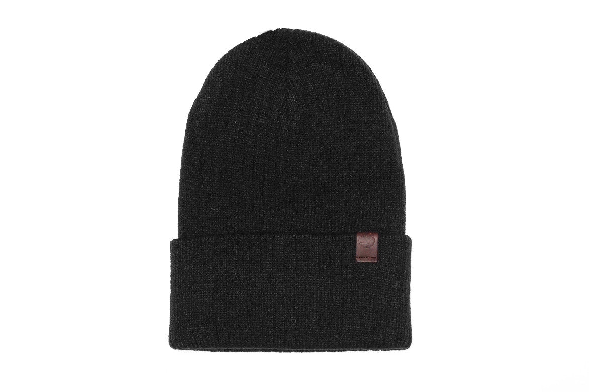 YOUTH RIBBED WATCH CAP - BLACK