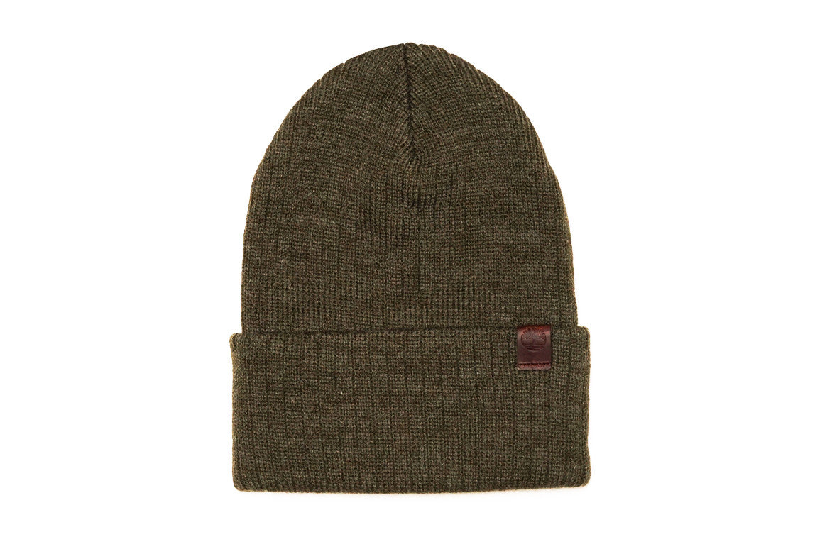 MEN SKULLY HAT - OLIVE