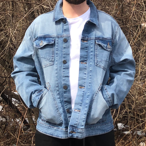 CLASSIC DENIM JACKET - LIGHT BLUE