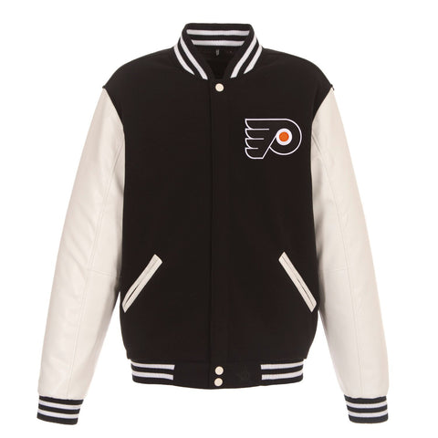 REVERSIBLE VARSITY JACKET - FLYERS