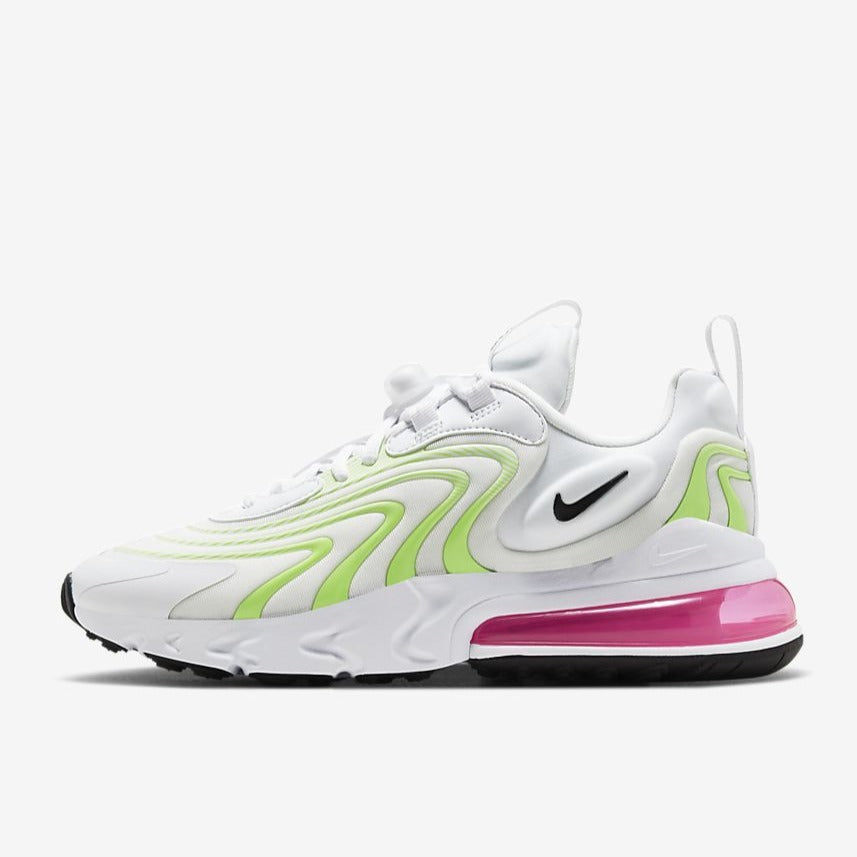 Wmns Air Max 270 React Eng White Ghost Green City Blue