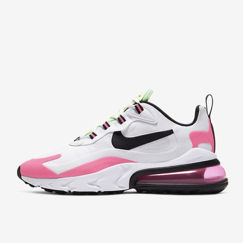 WMNS AIR MAX 270 REACT - WHITE / HYPER PINK / PINK BLAST