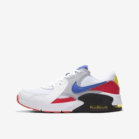 AIR MAX EXCEE (GS) - WHITE / BRIGHT CACTUS / TRACK RED