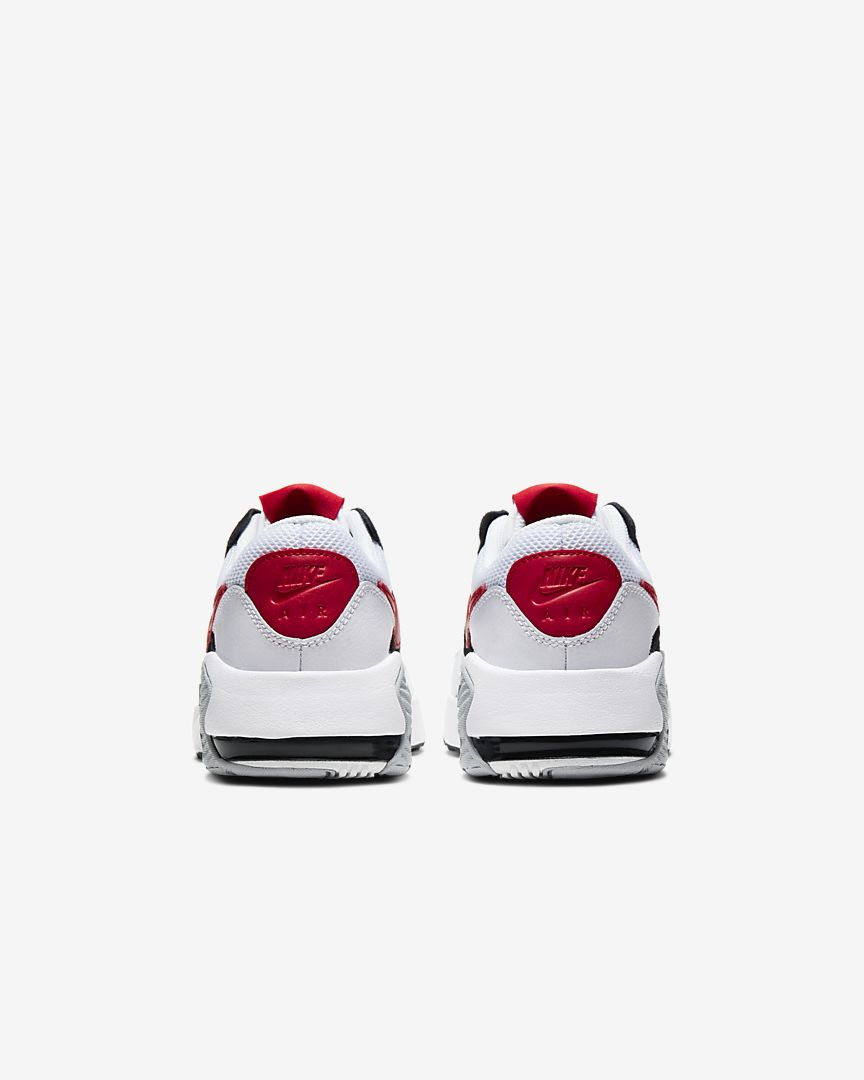 AIR MAX EXCEE (GS) - WHITE / BLACK / UNIVERSITY RED
