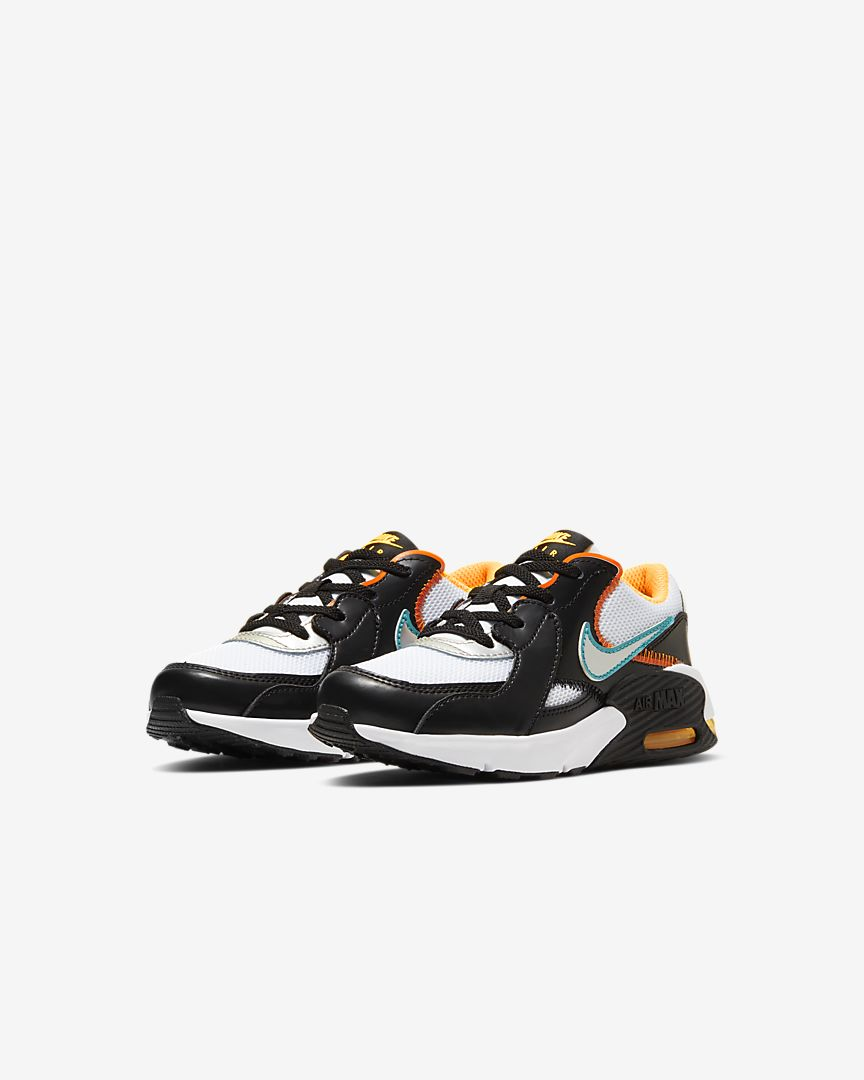 AIR MAX EXCEE D2N (PS) - WHITE / BLACK / LASER ORANGE