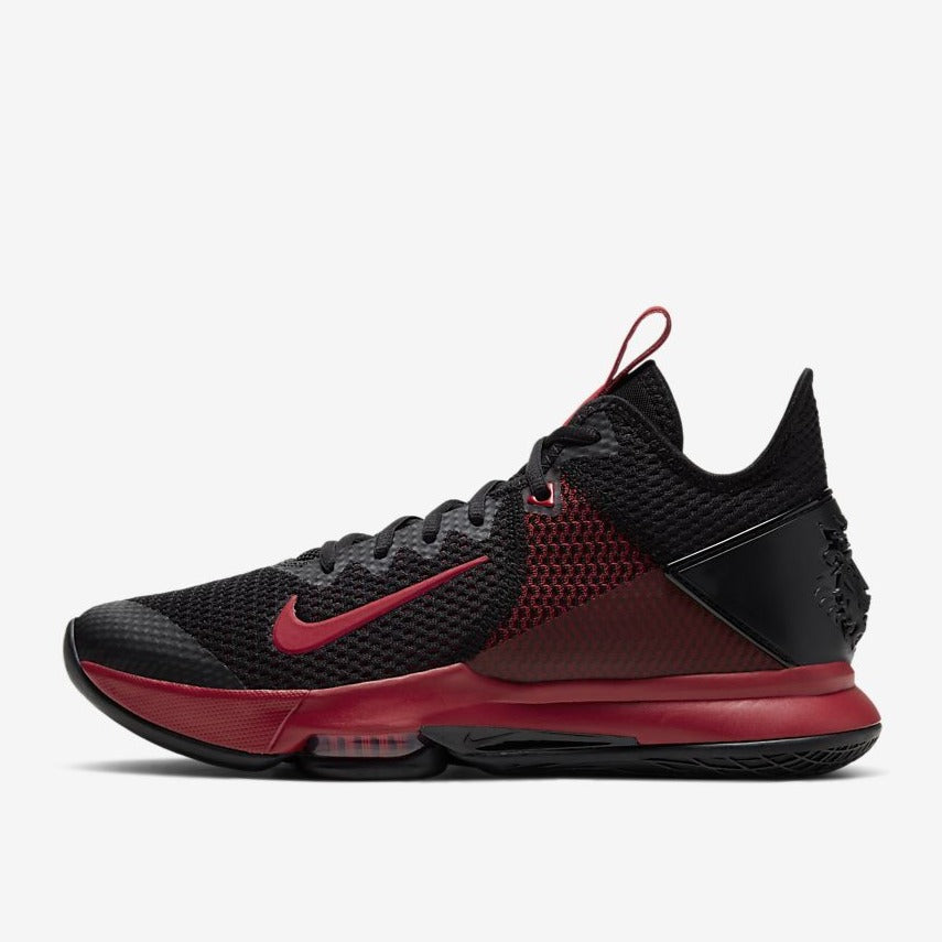 LEBRON WITNESS IV - BLACK / BRIGHT CRIMSON / GYM RED