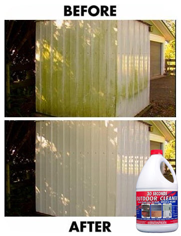 Clean Mildew From Aluminum Siding