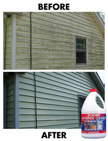 vinyl siding cleaner 30 seconds 174 outdoor cleaner and vinyl siding 10581