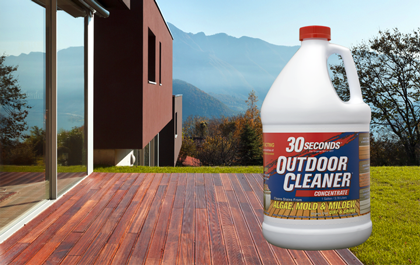 30 Seconds Outdoor Cleaners Clean Stains From Virtually